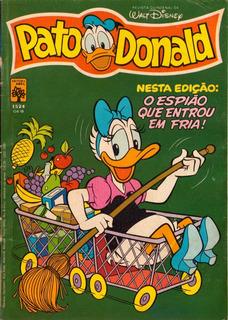 Pato Donald 1524 - Revista Usada Em Bom Estado