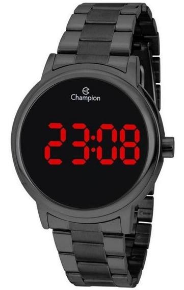 Relógio Digital Unissex Champion Ch40115d Preto