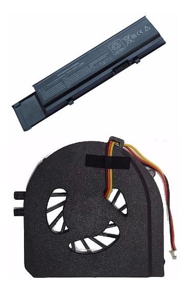 Kit Bateria + Cooler Para Dell Vostro 3400 7fj92 3500 Cydwv