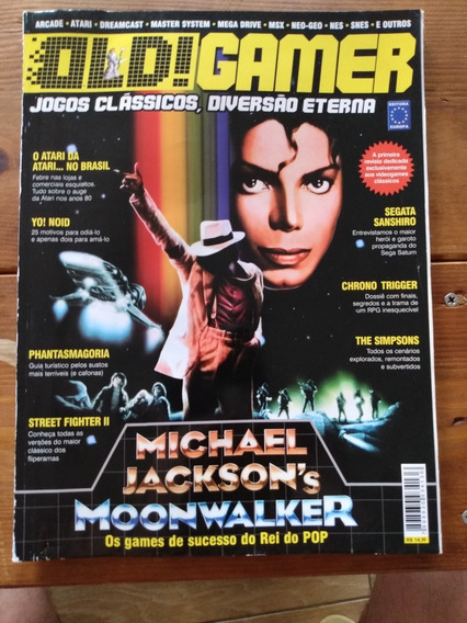 Revista Usada Old Gamer Nº 01 Moonwalker Mega Man 2 ( Leia )