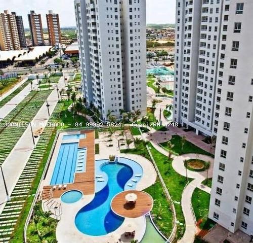 Imagem 1 de 14 de Apartamento Para Venda Em Natal, Neópolis - L`acqua Condominio Club, 2 Dormitórios, 1 Suíte, 2 Banheiros, 1 Vaga - Ap1793-la_2-1196981