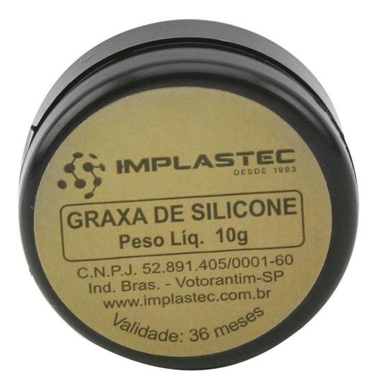 Graxa Silicone Implastec 10g Igs 200