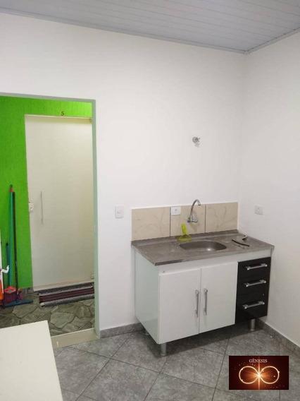 Casa Com 1 Dormitório Para Alugar, 30 M² Por R$ 700/mês - Jardim Capelinha - São Paulo/sp - Ca0045