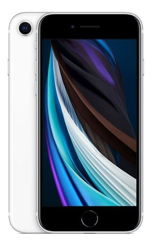 Imagem 1 de 4 de iPhone SE Apple 128gb 4g Branco Tela 4,7 Camera 12mp Ios