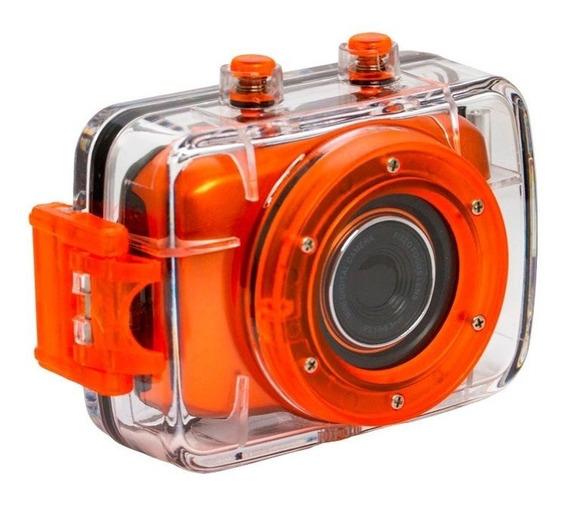 Câmera Filmadora De Ação Hd Vivitar Dvr783 + Cartão 32gb