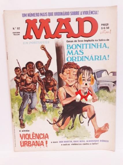 Revista Mad N° 82, Bonitinha Mas Ordinária - Abril De 1981