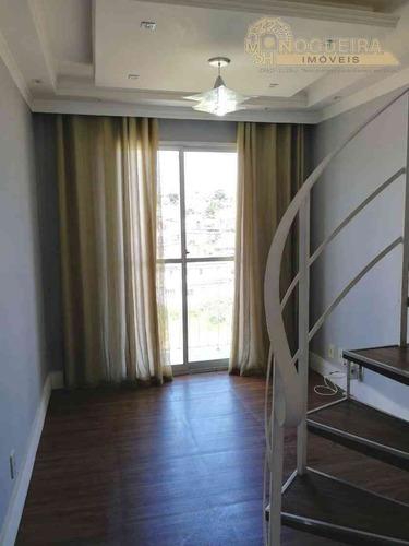 Linda Cobertura Duplex - Taboão - Ref.:3533-3 - 3533
