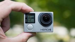 Go Pro Gopro Hero 4 Silver 4k Com Tela Lcd