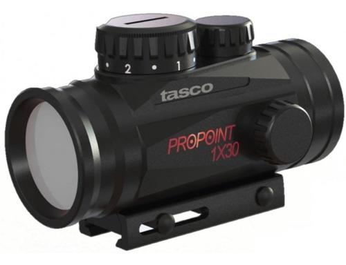 Imagen 1 de 6 de Mira Tasco 1-30 Pro Point Con Punto Rojo Bentancor Outdoor
