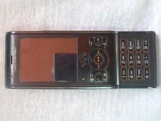 Celular Sony W595 Con Detalle