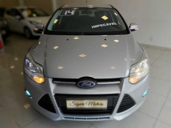 Ford Focus 1.6 Se 2014 Manual Impecável! Pneus Novos!