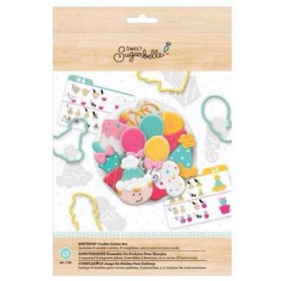 Cookie Cutter - Sb - Set - Birthday - (18 Piece)