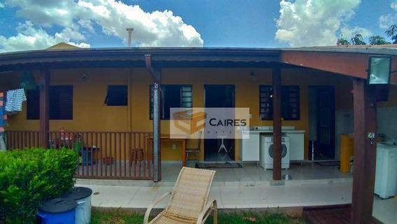Casa Residencial À Venda, Parque Jambeiro, Campinas. - Ca0901
