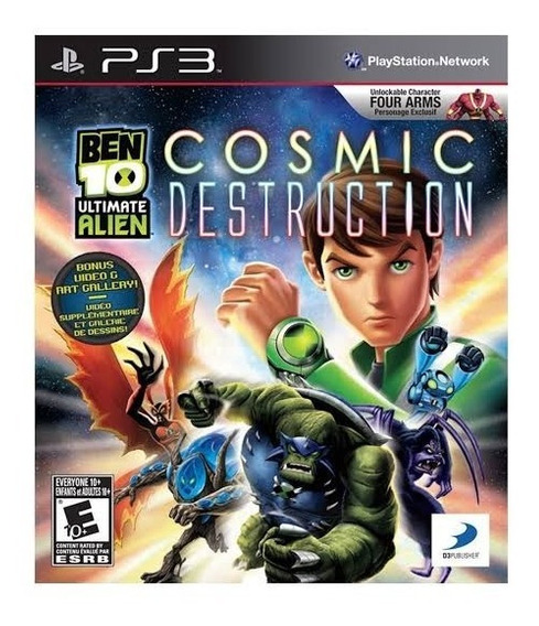 Ben 10 Cosmic Destruction - Ps3 - Mídia Física