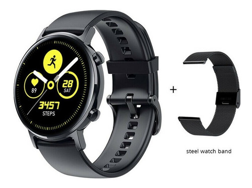 Relogio Smartwatch Sg3 Original Preto  Com 2 Pulseiras