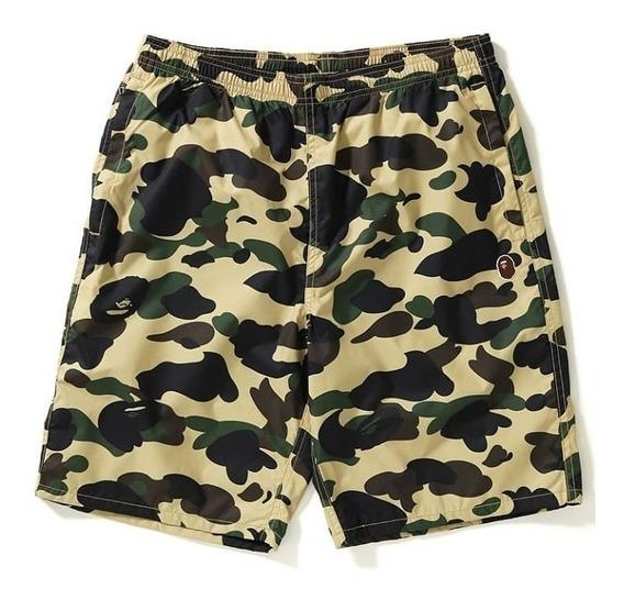 Cueca Carnaval Bermuda Shorts Trend Trap Swag Lil Camo Hype