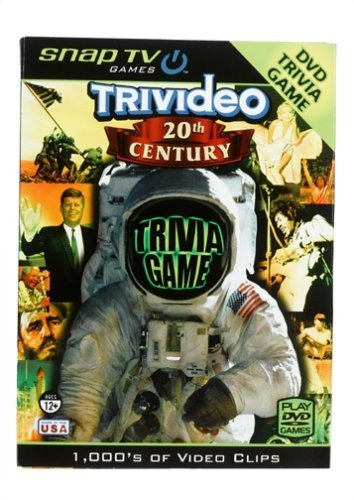 Trivideo 20th Century Dvd Trivia Game