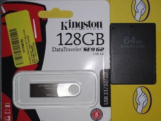 Juegos Playstation 2 * Usb 128gb Y Chip Freemcboot Ps2 *
