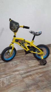 Bicicleta Con Rueditas Usada
