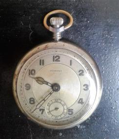 Arremate Relógio Bolso Famoso Funciona Coleção Império