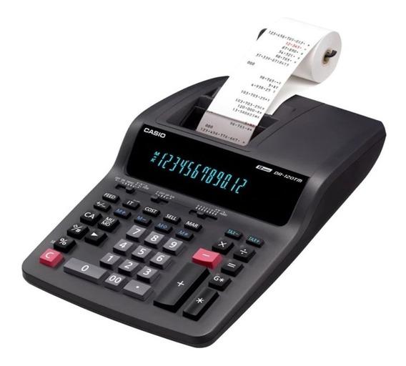 Calculadora Casio Dr-120tm Imprime 2 Colores 12 Dig Env Grat