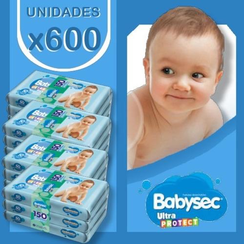 Imagen 1 de 3 de Babysec Toallas Ultra X 600 Unidades