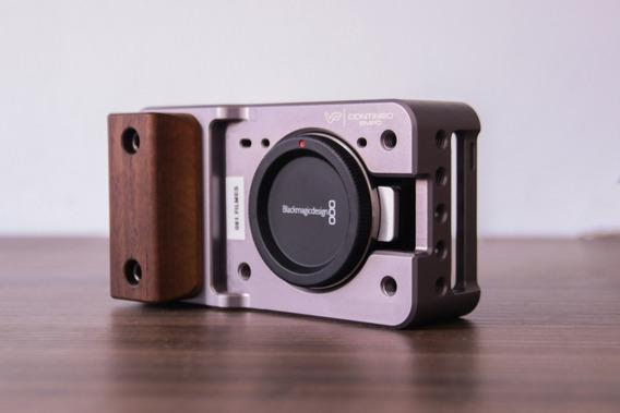 Câmera Blackmagic Pocket (bmpcc) + Lente 25mm 1.8 + Baterias