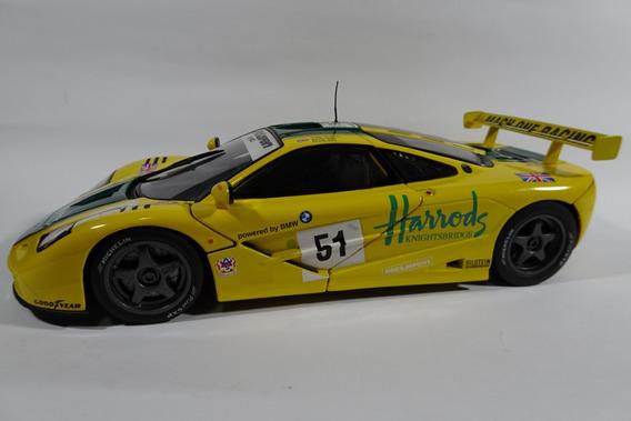 Mclaren F1 Gtr Le Mans 1996 Gulf Racing Homenagem Ao Ayrton