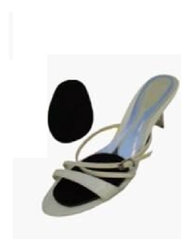 Kit 05 Palmilha Sapato Grande Ajuste Sandalia Scarpin Fs03