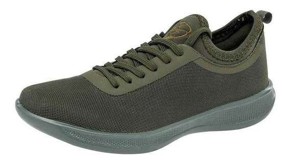 Tenis Been Class Mujer 11055 Color Olivo Talla 22-26
