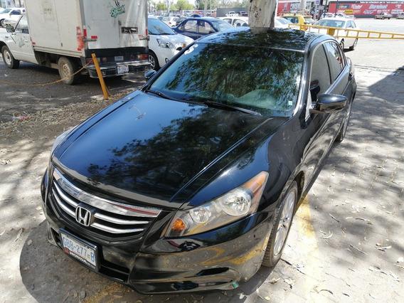 2011 Honda Accord Exl 4 Cil Automático Piel Qcocos 100% Mex