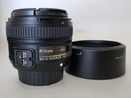 Imagem 1 de 9 de Lente Nikon 50mm 1.8g
