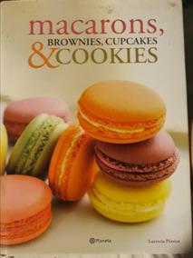 Livro De Culinaria Com Receitas De Macarons, Brownies, Cupca