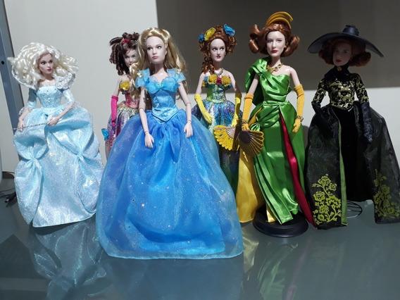 Cinderela, Lady Tremaine, Irmãs, Fada Madrinha Live Action