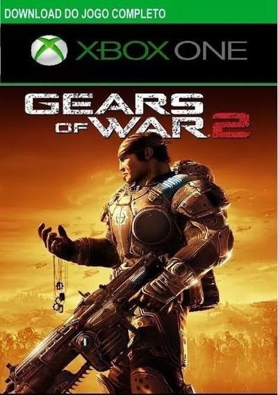 Gears Of War 2 Xbox 360/one Original Codigo De 25 Dígitos
