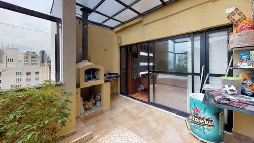 Cobertura Com 4 Dormitórios À Venda, 251 M² Por R$ 2.690.000,00 - Vila Mariana - São Paulo/sp - Co1415