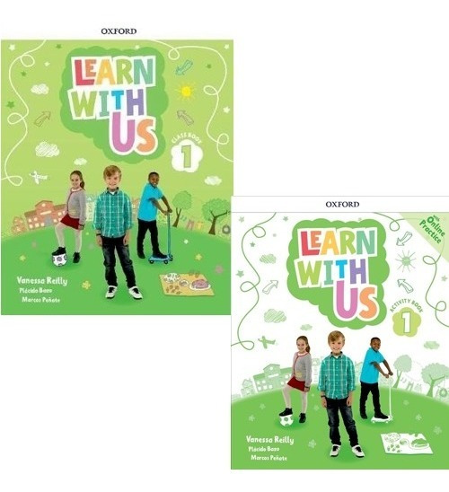 Learn With Us 1 - Class Book And Activity Book - Oxford
