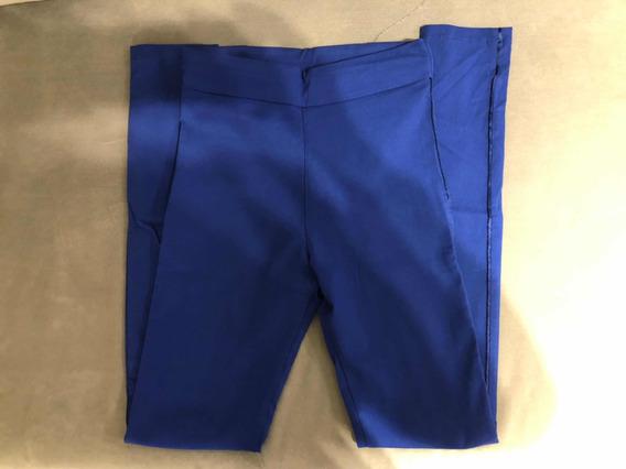 Pantalón Azul Con Spandex