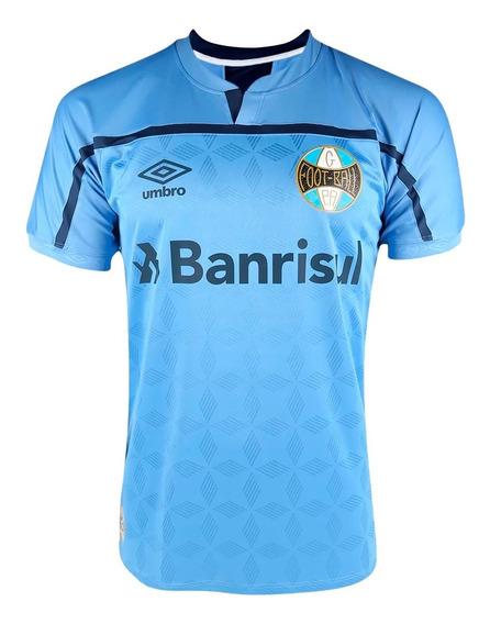 Camisa Grêmio Umbro Oficial 3 Masculina Número 10 2020/21