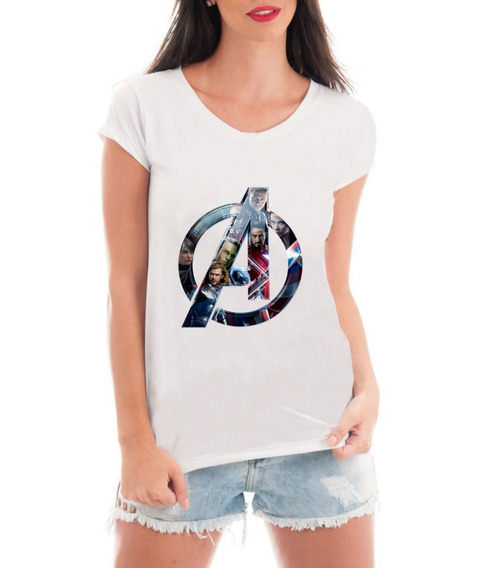 Camiseta Vingadores Ultimato Avengers Super Heróis Blusa