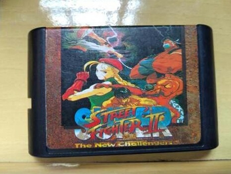 Super Street Fighter New Challengers 2 Mega Drive