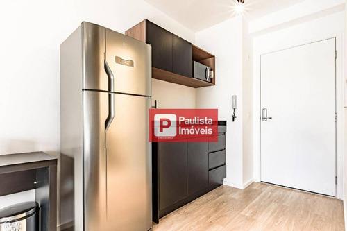 Apartamento Com 1 Dormitório Para Alugar, 30 M²  - Brooklin - São Paulo/sp - Ap30548