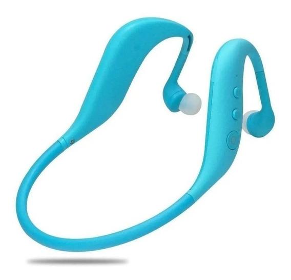 Fone Ouvido Sem Fio Bluetooth Sport Mp3 Cartão Radio Corrida