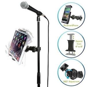 Soporte De Tablet O Celular Para Base O Stand De Micrófono