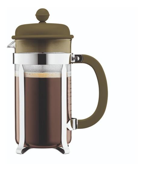 Cafetera Bodum Caffettiera 8 Pocillos Verde Musgo
