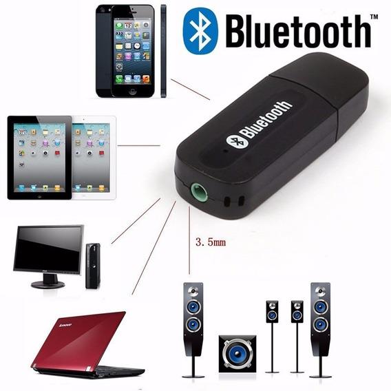 Adaptador Receptor Bluetooth Wireless Usb Musica Carro P2