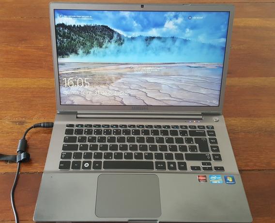 Notebook Samsung Em Aço Escovado