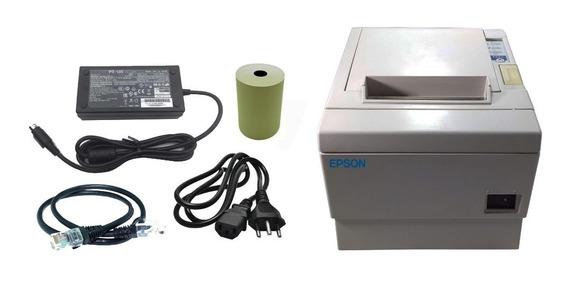 Impressora De Cupom Não Fiscal Epson Tm-t88iii Ethernet/rede