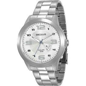 Relógio Seculus Long Life 28694gosvna1 Original