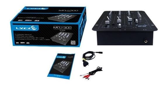 Mixer Lyco Mdj300 Usb Mdj 300